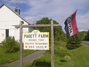 Pagett Farm Sign