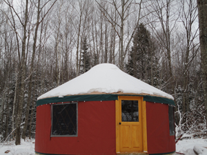 Cozy Woods Yurt